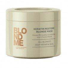 Маска Кератиновое восстановление Schwarzkopf BlondMe Keratin Restore Blonde Mask, 200мл