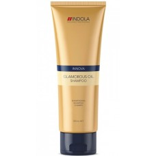 Шампунь для блеска волос Indola Innova Glamorous Oil Shampoo 250мл