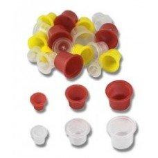 Колпачки пластиковые для пигментов 100 ШТ.